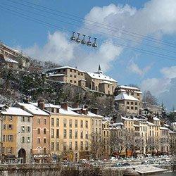 法国阿尔卑斯山:格勒诺布尔