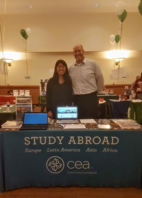 2-Education Abroad Fair Tabling