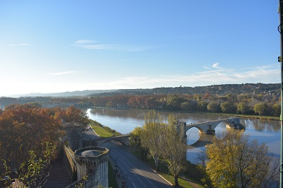 Few views can compare with the panoramic view of Pont Saint Bénézet as the sun sets