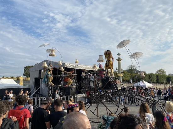 Concert at the Bike Fair