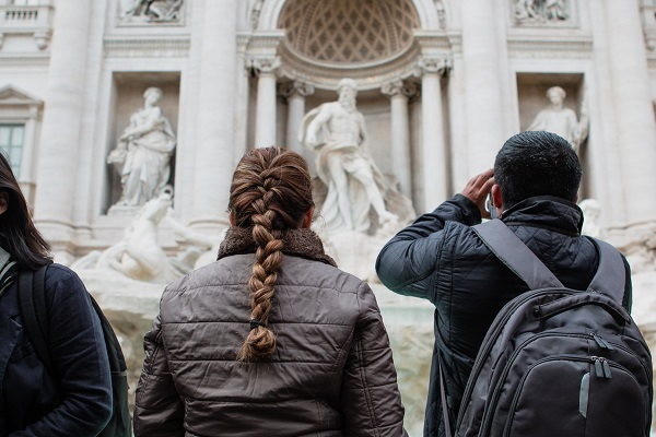 FCO Spring 2018- JWall-Admiring the Fontana di Trevi