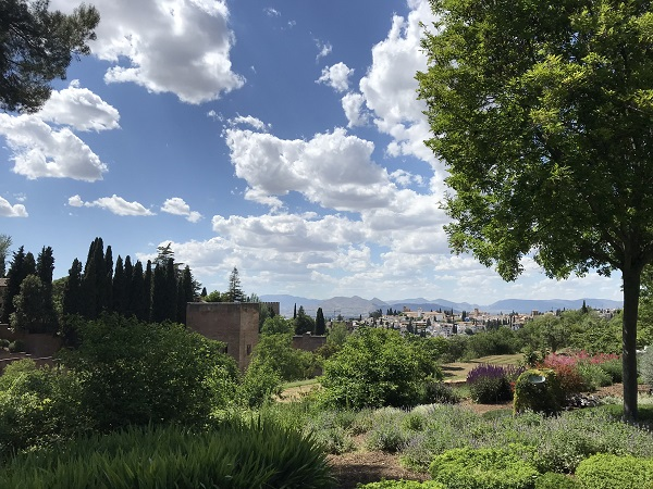 Gardens of Generalife and the Alhambra - Copy