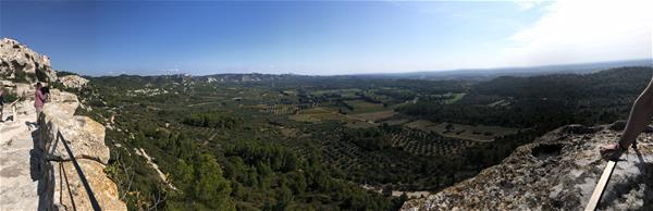 MOJO Blog Post #4 - View Froom Les Baux de Provence
