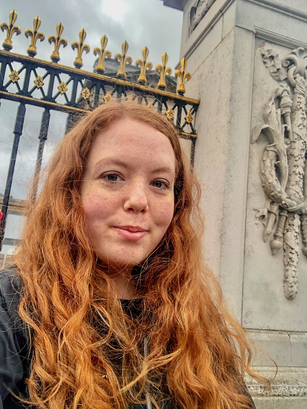 Solitary at Royalty - Buckingham Palace - Copy