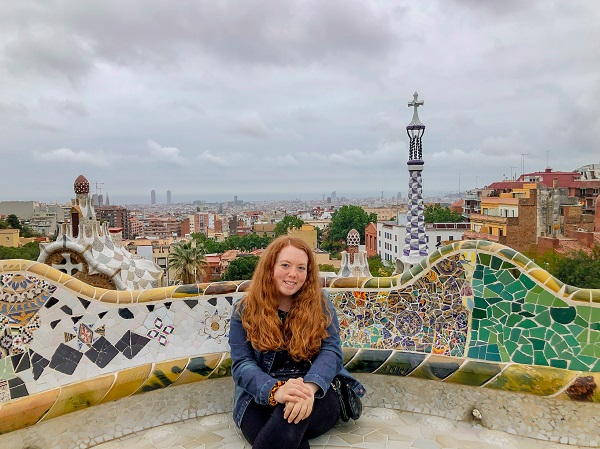 Solo Picture at Park Guell