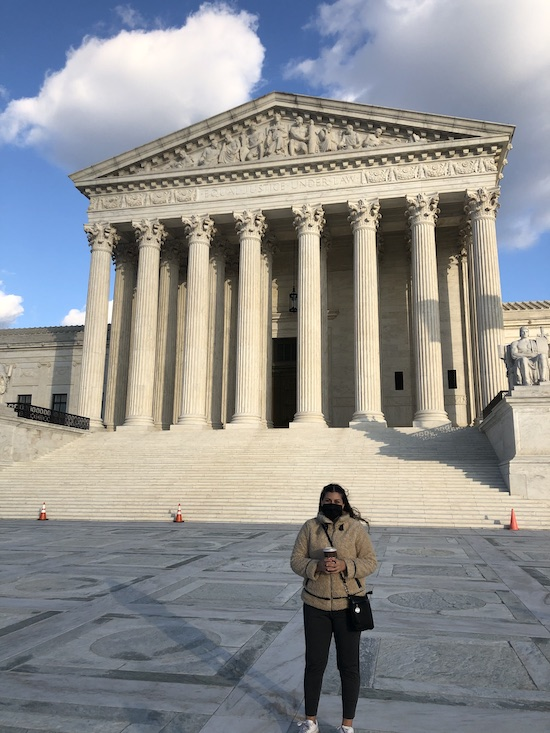 Supreme Court Building in DC