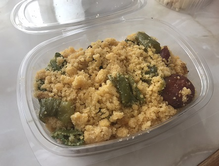 take-away migas for lunch