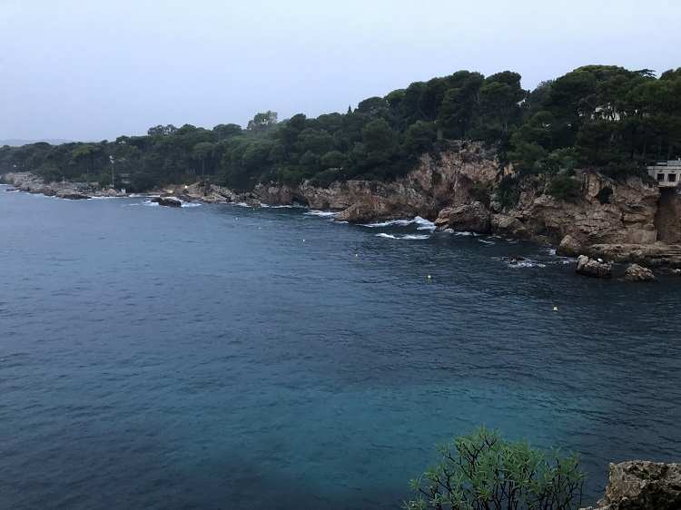 View of Cap d'Antibes