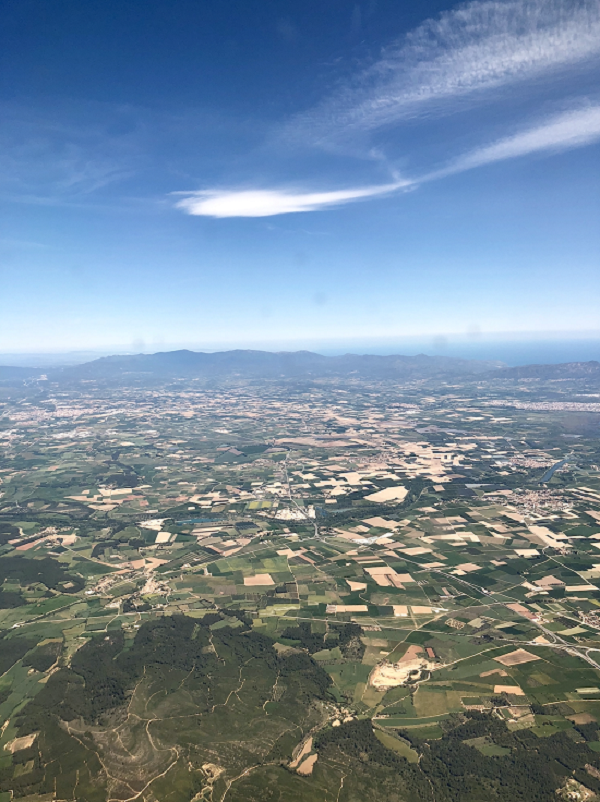 View of Spain from Plane - Copy - Copy
