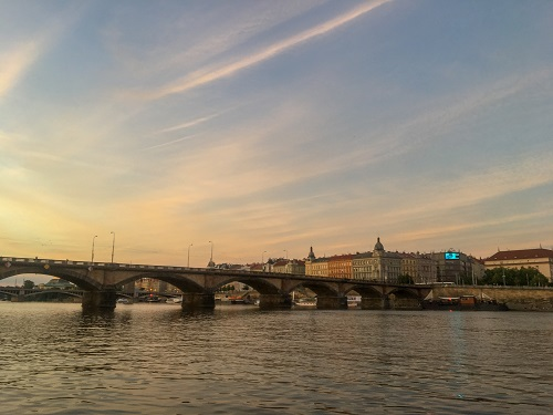 Vltava River Sunset-2
