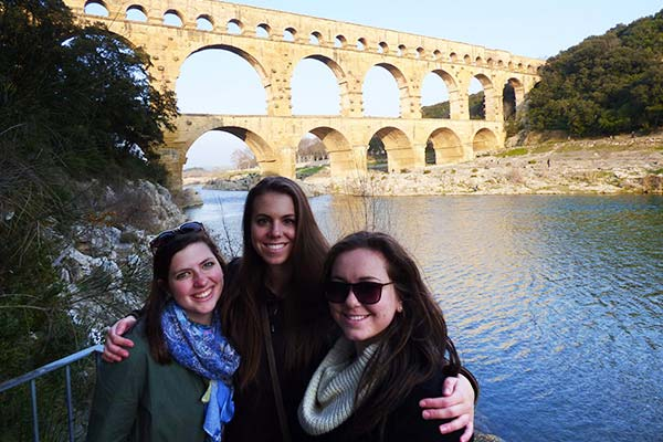 Avignon and the Pont du Gard