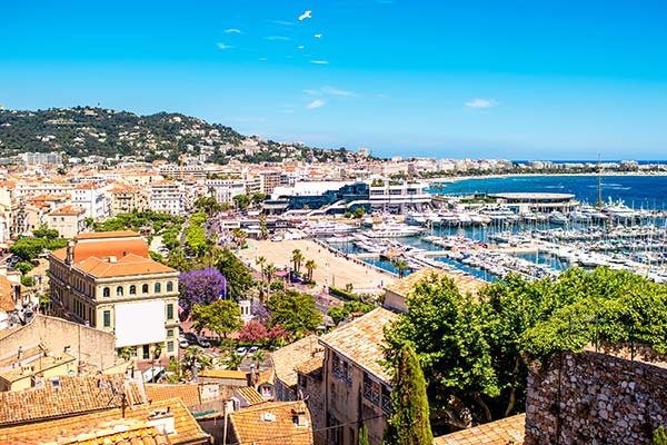 Cannes & St. Marguerite Island